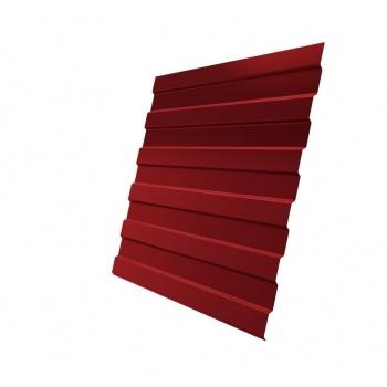 Профнастил С8А PE RAL 3003 рубиново-красный