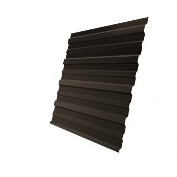 Профнастил С10 RR 32 темно-коричневый