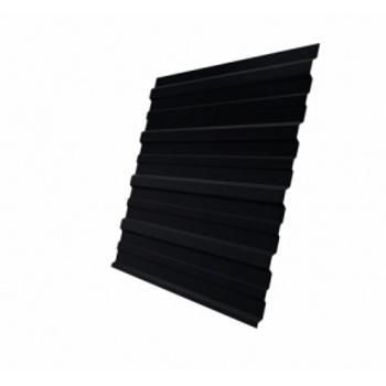 Профнастил С10A RAL 9005 черный
