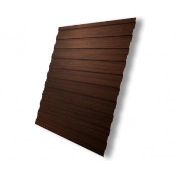Профнастил С8А Choco Wood