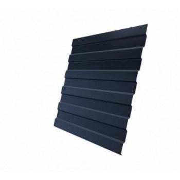 Профнастил С8А GreenCoat Pural BT RR 23 темно-серый