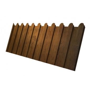 Профнастил С8А фигурный 0,45 Golden Wood_old