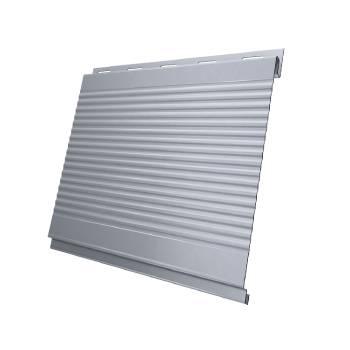 Вертикаль 0,2 gofr 0,45 PE с пленкой RAL 9006 бело-алюминиевый