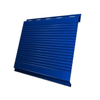 Вертикаль 0,2 gofr 0,5 Satin с пленкой RAL 5005 сигнальный синий