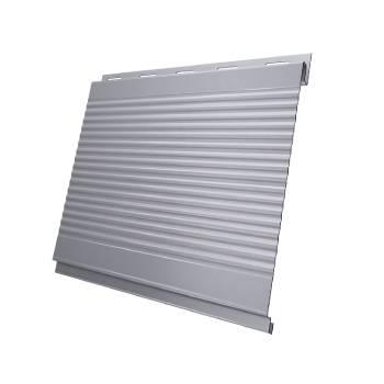 Вертикаль 0,2 gofr 0,5 Satin с пленкой RAL 7004 сигнальный серый