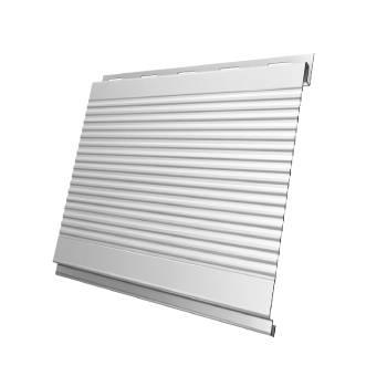 Вертикаль 0,2 gofr 0,5 Satin с пленкой RAL 9003 сигнальный белый
