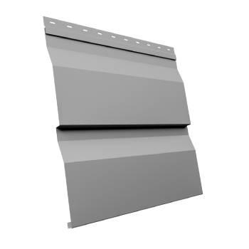 Корабельная Доска XL 0,5 Satin RAL 9006 бело-алюминиевый