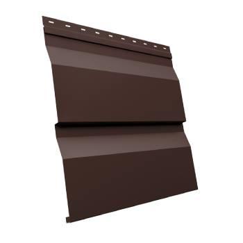 Корабельная Доска XL 0,5 Satin с пленкой RAL 8017 шоколад