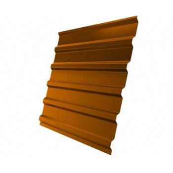Профнастил С20 RAL 2004 оранжевый