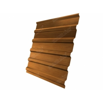 Профнастил С20В Golden Wood