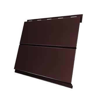 Вертикаль 0,2 Grand Line line 0,5 Quarzit lite с пленкой RAL 8017 шоколад