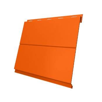 Вертикаль 0,2 line 0,45 PE с пленкой RAL 2004 оранжевый