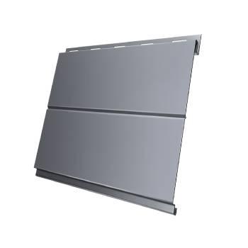Вертикаль 0,2 line 0,45 PE с пленкой RAL 9006 бело-алюминиевый
