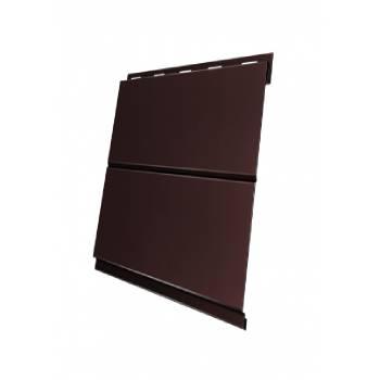 Вертикаль 0,2 line 0,5 GreenCoat Pural BT, matt с пленкой RR 887 шоколадно-коричневый