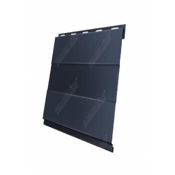 Вертикаль 0,2 prof 0,45 Drap с пленкой RAL 7024 мокрый асфальт