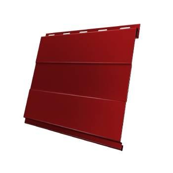 Вертикаль 0,2 prof 0,45 PE с пленкой RAL 3003 рубиново-красный