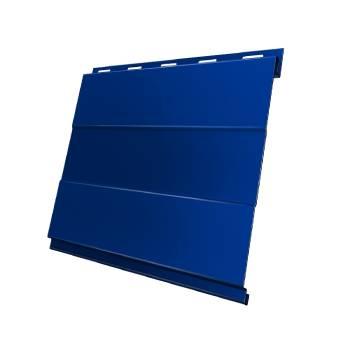 Вертикаль 0,2 prof 0,45 PE с пленкой RAL 5005 сигнальный синий