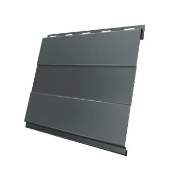 Вертикаль 0,2 prof 0,45 PE с пленкой RAL 7005 мышино-серый
