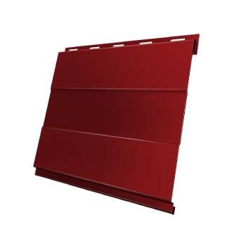Вертикаль 0,2 prof 0,5 Satin с пленкой RAL 3011 коричнево-красный
