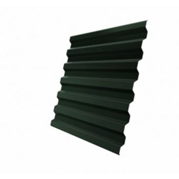 Профнастил С21 RR 11 темно-зеленый (RAL 6020 хромовая зелень)