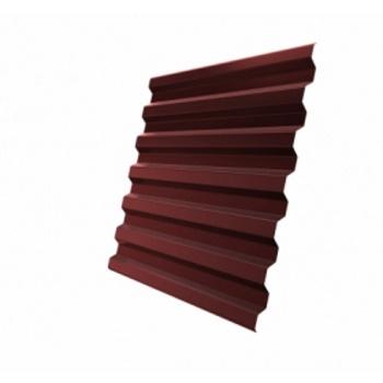 Профнастил С21 RR 29 красный (RAL 3009 оксидно-красный)