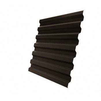 Профнастил С21 RR 32 темно-коричневый